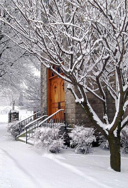Sunday Snowy morning
