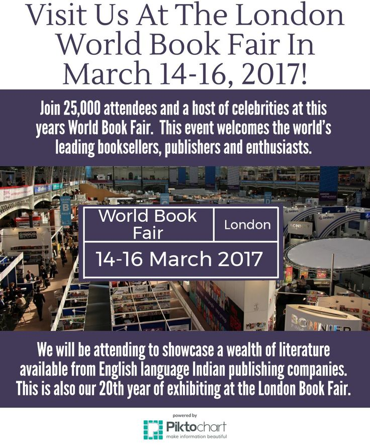 Visit Us At The London World Book Fair In March 14-16, 2017! -  http://blog.motilalbooks.com/visit-us-at-the-london-world-book-fair-in-march-14-16-2017 We are really excited about taking part as an exhibitor at the London World Book Fair, showcasing the wealth of literature available from English language Indian publishing companies. This will be our 20th year of exhibiting at the London Book Fair. 367 High Street, London Colney, St. Albans, Hertforshire, AL2 1EA.