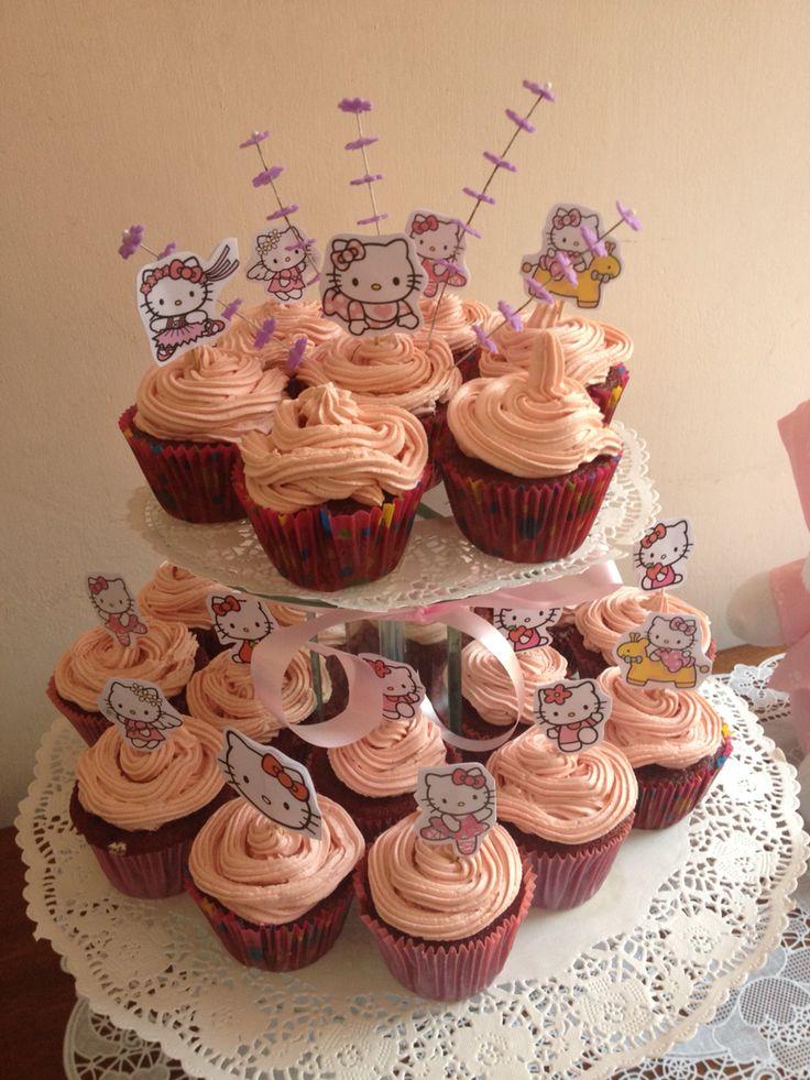 Cupcakes Baby Shower - Hello Kitty