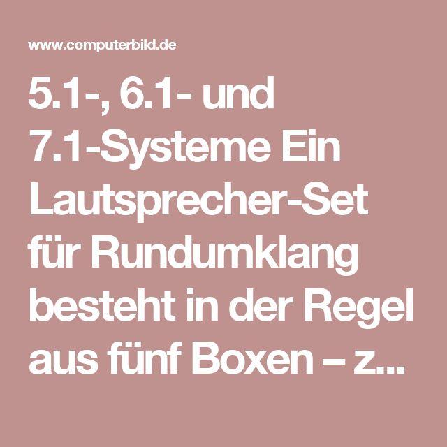 5.1-, 6.1- und 7.1-Systeme Ein Lautsprecher-Set für Rundumklang besteht in der Regel aus fünf Boxen – zwei vorn, zwei hinten, einer vorn in der Mitte – und einem Subwoofer. Für diese Aufstellung eignet sich jeder AV-Receiver. Wenn Sie noch ein bis zwei weitere Boxen anschließen möchten – für hinten in der Mitte beziehungsweise hinten leicht nach links und rechts versetzt – benötigen Sie einen 6.1-/7.1-AV-Receiver. Der Mehrheit der Heimkino-Fans reichen aber fünf Lautsprecher, da die meisten…