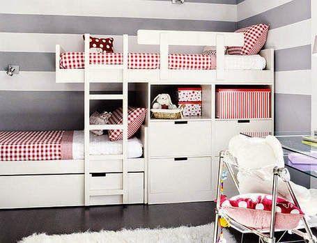 Como decorar una habitaci n compartida larga y estrecha - Decorar habitacion piso compartido ...