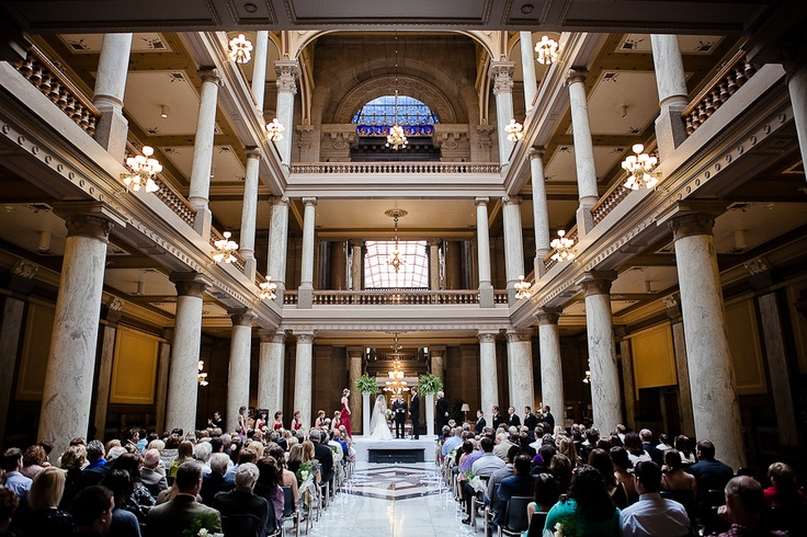 Indiana Statehouse Wedding