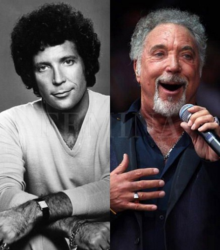 Tom Jones  Then and Now still gorges!!!