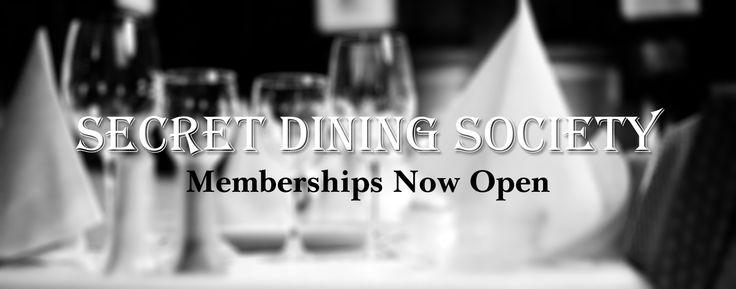 Secret Dining Society