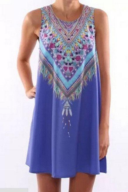 Summer Casual Boho Dress