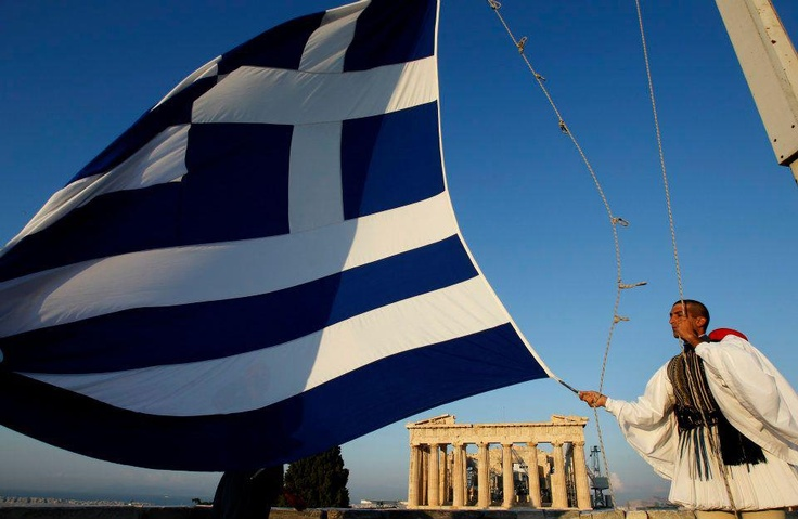 Greek Flag- Athens <3-Greece