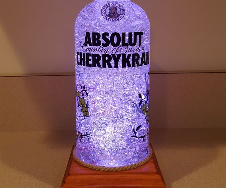 This instructable shows you how to construct a fairly simple LED light comprised of a wooden base, four single LED's, and an empty liquor bottle of your choice. This makes for a great decoration or gift for someone special. I added a gel-like substance to the inside of the bottle in order to refract/show the light better.