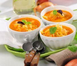 Recept Italská zeleninová polévka od Vorwerk vývoj receptů - Recept z kategorie Polévky