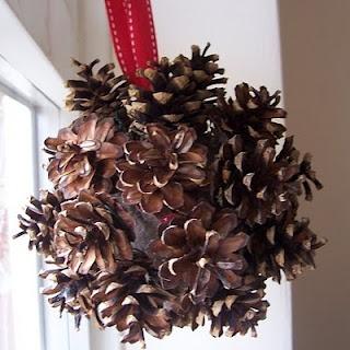Make It! Christmas Pine Cone Ball Tutorial