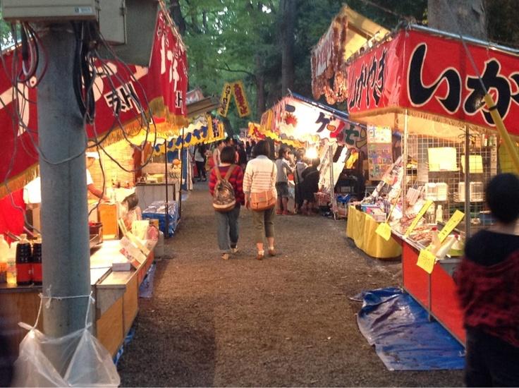 "Japanese ""A Street stall"" #Japan #Tokyo #Festival #Matsuri"
