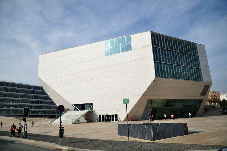 Casa de la Música -  Concert Hall in Oporto  Portugal
