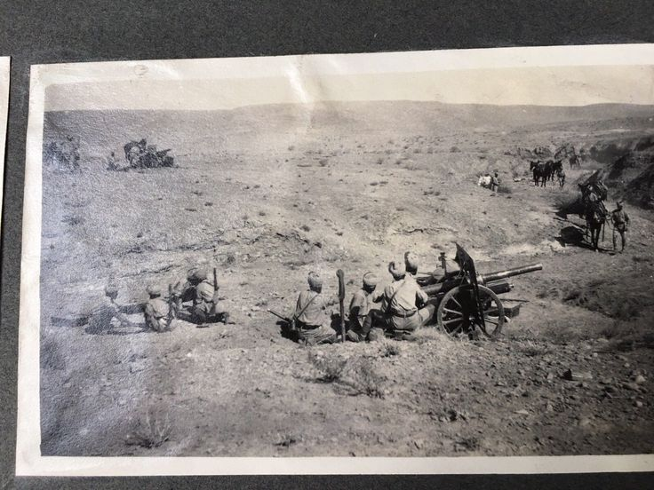 Large Photograph Album - British Artillery In India. About 150 Photos. 1920s   eBay