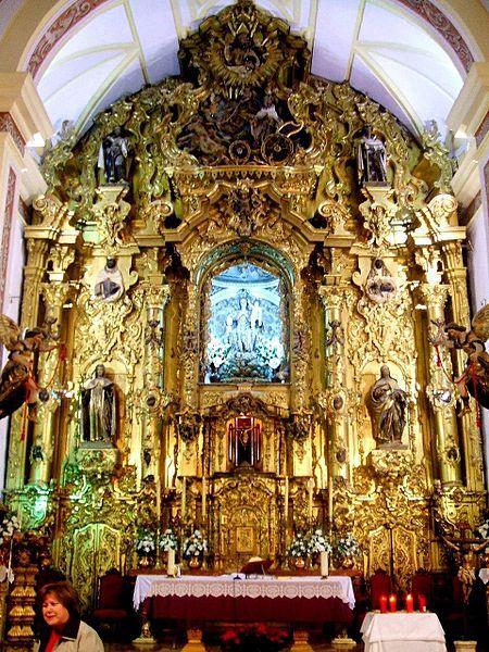 Retablo Mayor Iglesia de El Carmen. Écija