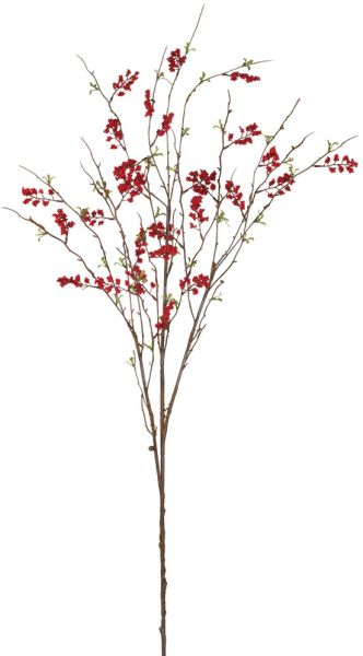 52 best diy silk flower arrangements images on pinterest floral artificial berry branch in red silk artificial flowers easy return policy mightylinksfo Choice Image