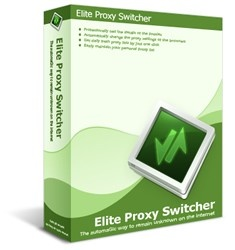 Elite Proxy Switcher is an advanced proxy checker and switcher that allows you to modify proxy settings in your browsers with just a few clicks.It's supposed to perform quite a complicated task, that's true, but Elite Proxy Switcher is pretty easy to use and needs just a few minutes before discovering all its goodies.