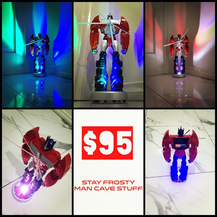 The ultimate Transformers clock! Hand made diy upcycle.