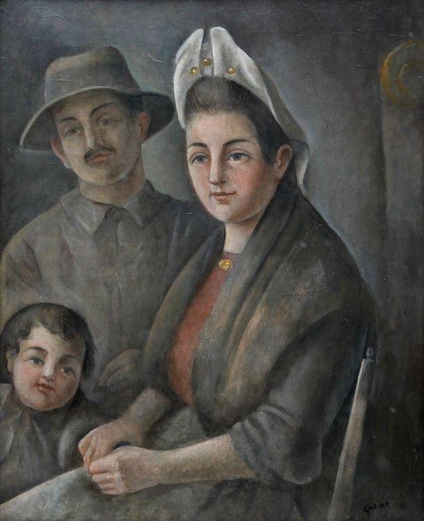 Otakar Kubín: Vesničané z Auvergne / 1945