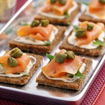 17 best ideas about salmon canapes on pinterest smoked for Quick and easy canape ideas