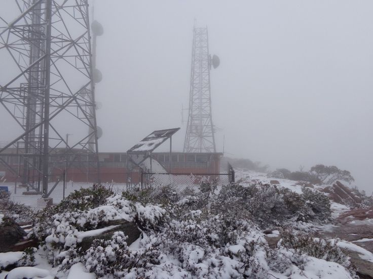 Mount William in the snow