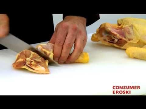 Técnicas básicas de cocina: Cómo limpiar y despiezar el pollo Eroski Consumer