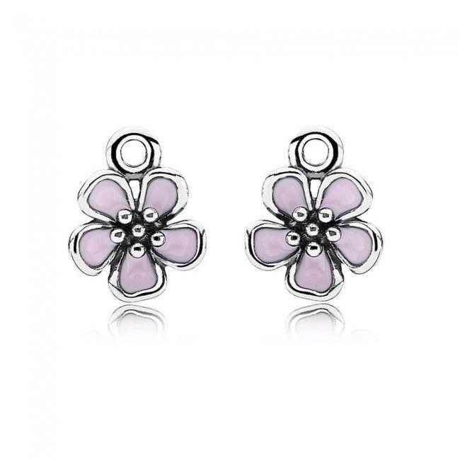 Pandora Pink Flower Earring Pandora Earrings Pandora Jewelry Charms Pandora Pink