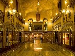 Sydney's State Theatre, entrance foyer.