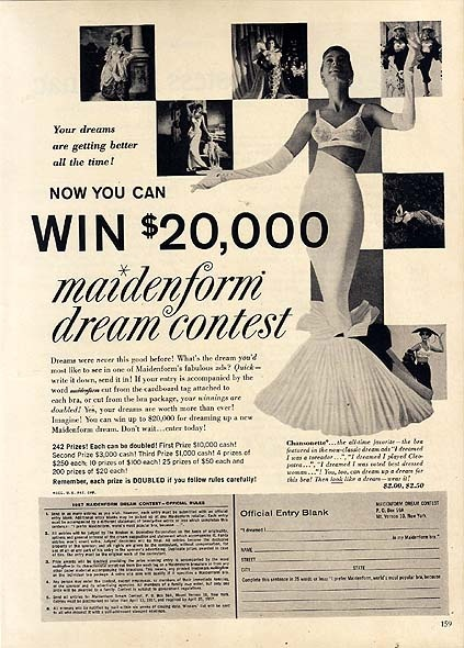 "100 best images about The remarkable Maidenform ""I Dreamed ... - photo#38"