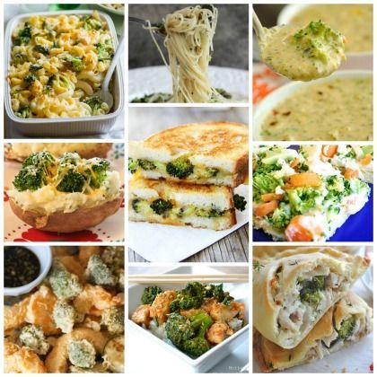 20 Broccoli Recipes Kids Will Love -- lots of yummy ideas for sneaking in that broccoli!!