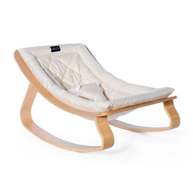 Transat bébé Design écru Charlie Crane.  En vente ici ! http://www.range-ta-chambre.com/chaise-pouf-design-enfant/1432-transat-bebe-ecru-design.html