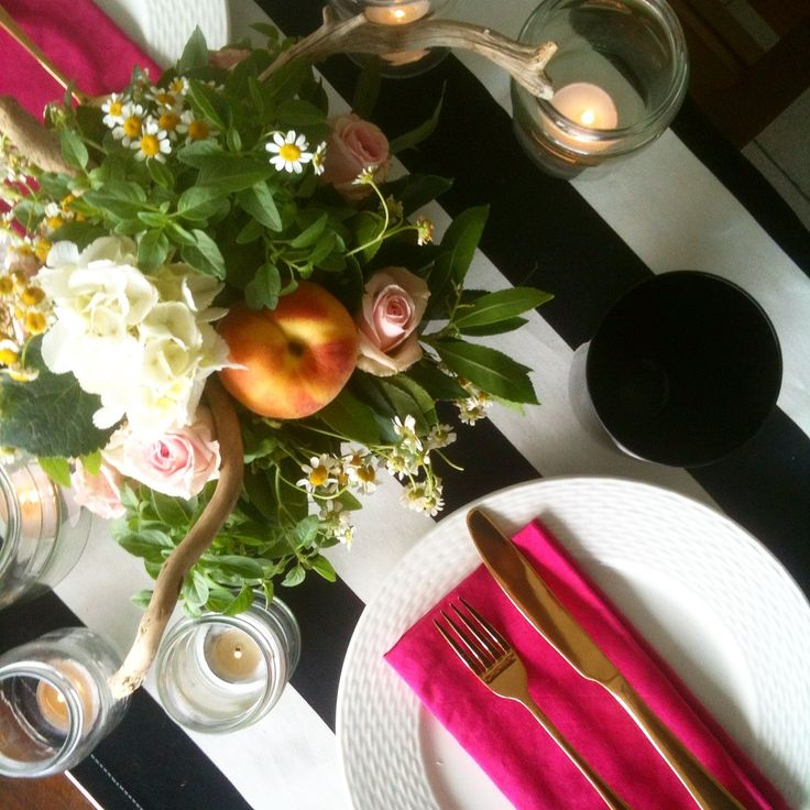 Kate Spade inspired tablesetting Villa F