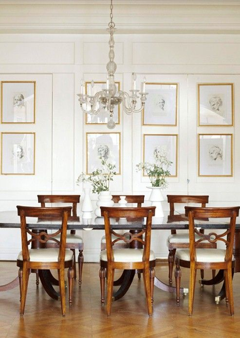 Amazing Dining Room Art Ideas Part - 9: Dining Room Idea - Home And Garden Design Ideas