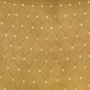 Giant Connectable Net Light 3m X 2m White Cable