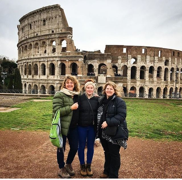Ancient Rome tour with Aussie girls ;)