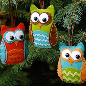 Owl Christmas tree ornament template http://www.parents.com/holiday/christmas/crafts/cute-ornaments-to-trim-the-tree/?socsrc=pmmpin092812owlornaments#page=15