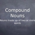 Use this as a cute intro to the compound nouns section of your nouns lesson. My students got a kick out of the somewhat-silly images I put together...