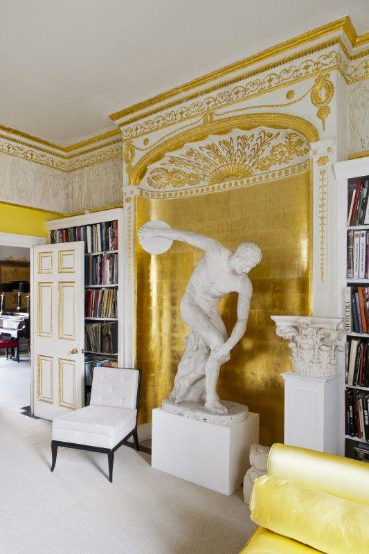 Einrichten wie ein Profi-Einrichtungsplaner - PAULINE hat da eine Idee ... APARTMENT IN LONDON DVA © Christopher Drake #Wohnen http://paulineshouse.com/wohnideenbuch-einrichtungsstile/#more-5553