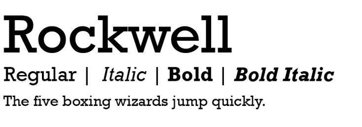 rockwell-modern-serif-fonts