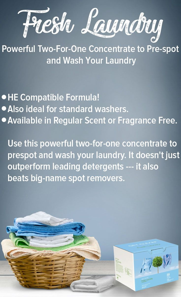 Fresh Laundry Perfect For You Healthyhome Shaklee