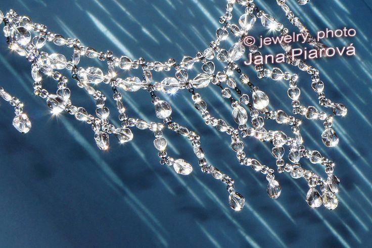 Jewelry & photo by JANA PIAROVA * Unique original design, hand made, material: Czech Glass