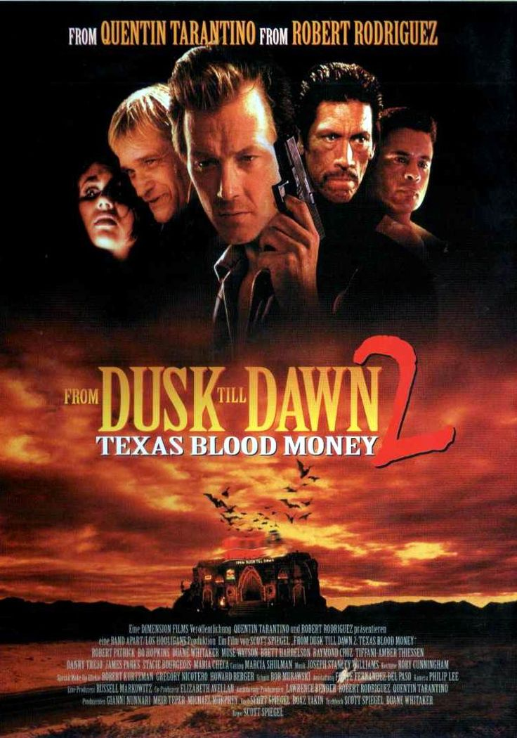 From Dusk Till Dawn 2 Texas Blood Money 1999 Movie Review