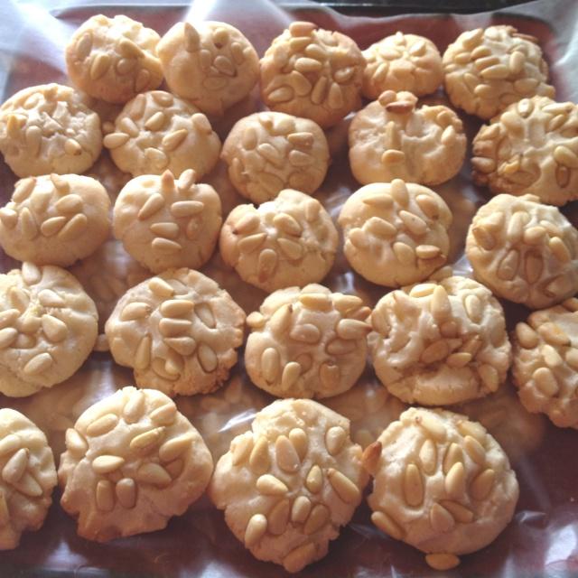 Pignolli Cookies