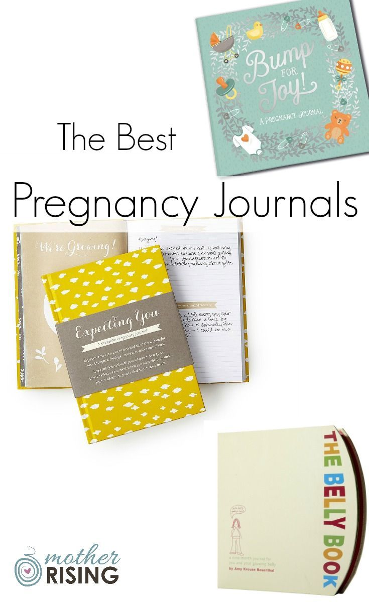 These are the top 7 pregnancy journals out there.  Read each description as they are all VERY different from each other!
