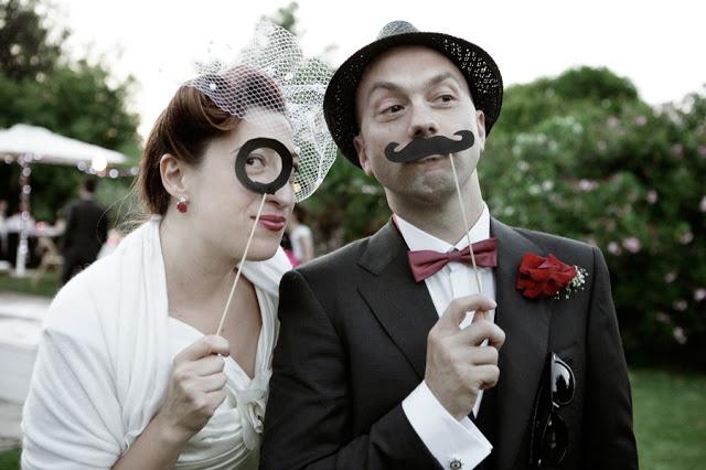 Matrimonio non convenzionale, vintage, burlesque   ©2011 Spose Non Convenzionali, Come le Ciliegie, Claudia Payewski