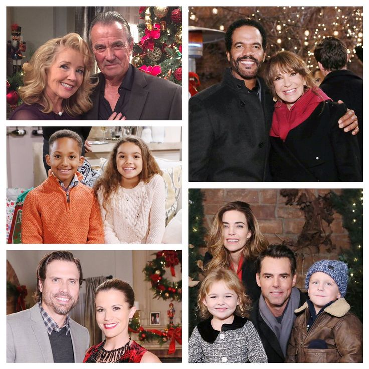 Celebrate the season TODAY with The Young and the Restless! #HappyHolidays #YR ⛄️