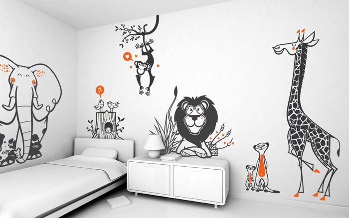 giant kids wall decals by E-GLUE Studio at Coroflot.com