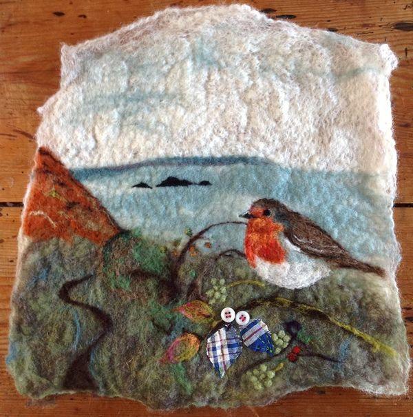 Felt crafts image by Suzanne Rose Burdette on Textile arts