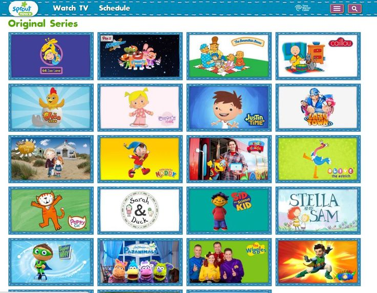 Pbs kids sprout shows caillou caillou videos amp games sprout