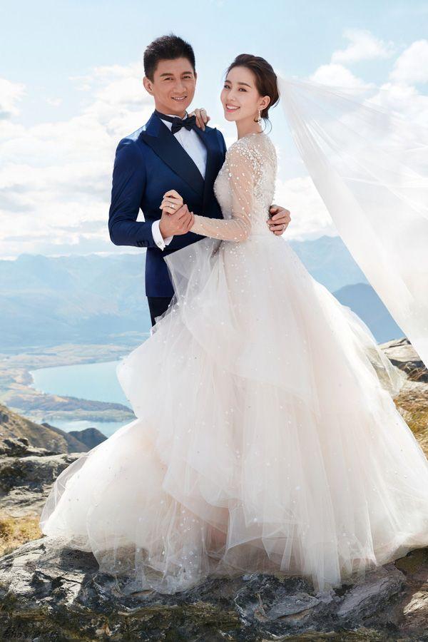 Lưu Thi Thi sẽ diện váy cưới 44 tỷ, nhẫn cưới 11 tỷ trong ngày cưới - Ảnh 1.