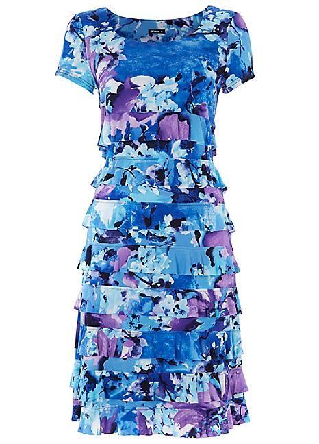 Roman Originals Floral Frill Dress. #Kaleidoscope #fashion #LoveFloral #Dresstoimpress