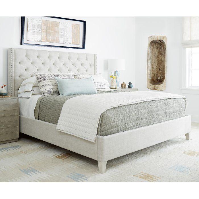 Rimini Upholstered Standard Bed Decoración De Alcoba Decoración De La Habitación Dormitorios